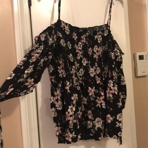 Aeropostale strappy off the shoulder top.